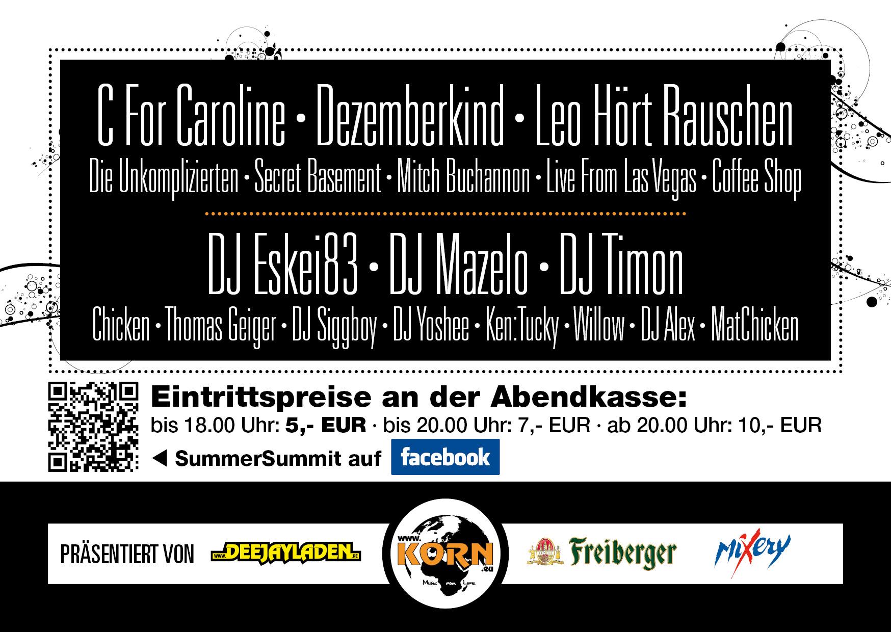 Flyer_R SummerSummit OpenAir 2011 - 09.07.2011 Oschatz