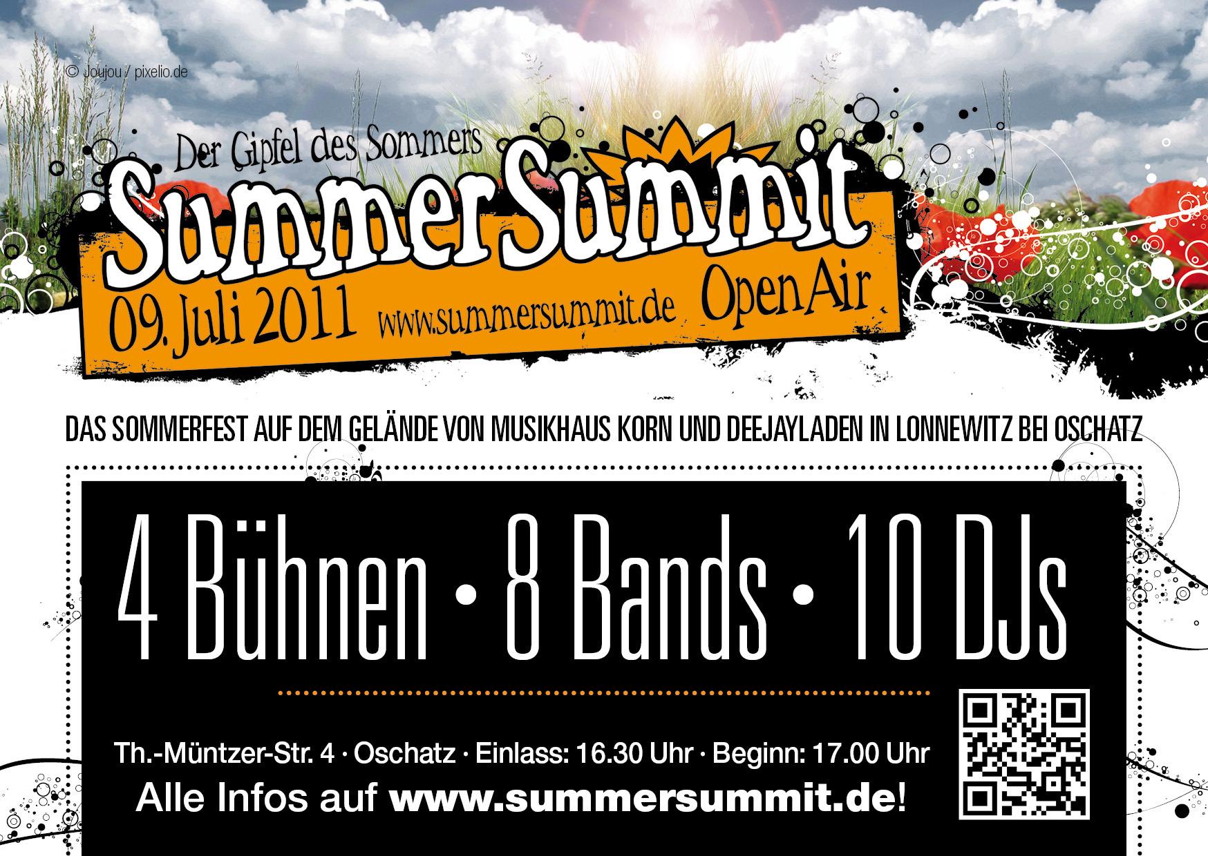 Flyer_V SummerSummit OpenAir 2011 - 09.07.2011 Oschatz